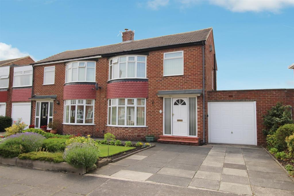 3 Bedrooms Semi Detached House for sale in Winchester Walk, Wideopen, Newcastle Upon Tyne