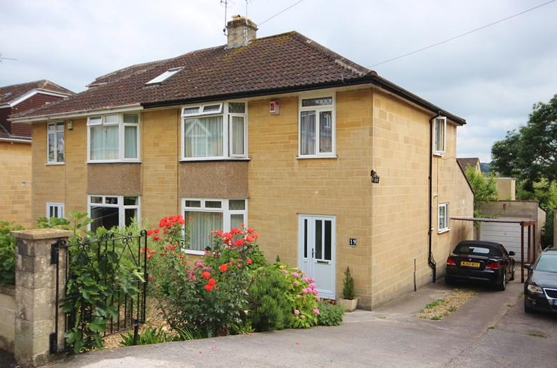 3 Bedrooms Semi Detached House for sale in South Lea Road, Weston, BATH