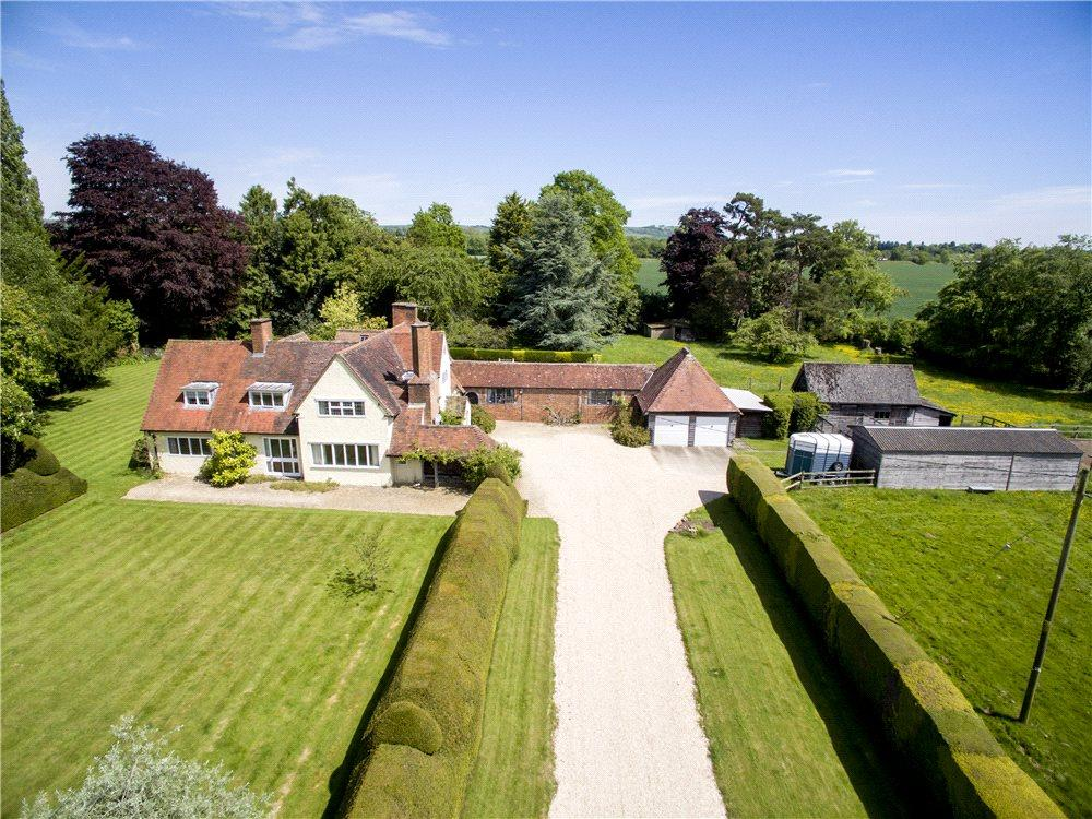 6 Bedrooms Detached House for sale in Manningford Abbots, Pewsey, Wiltshire, SN9