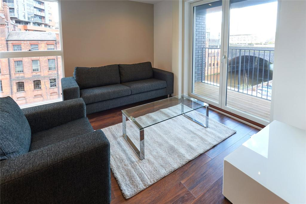 2 Bedrooms Flat for rent in New Bridge Street, Manchester, Greater Manchester, M3