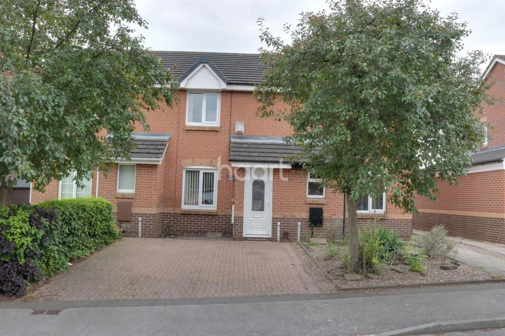 2 Bedrooms Terraced House for sale in Beeston Close, Bestwood Village