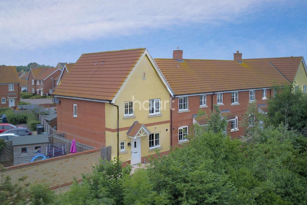 3 Bedrooms End Of Terrace House for sale in Bluebell Walk, Eynesbury