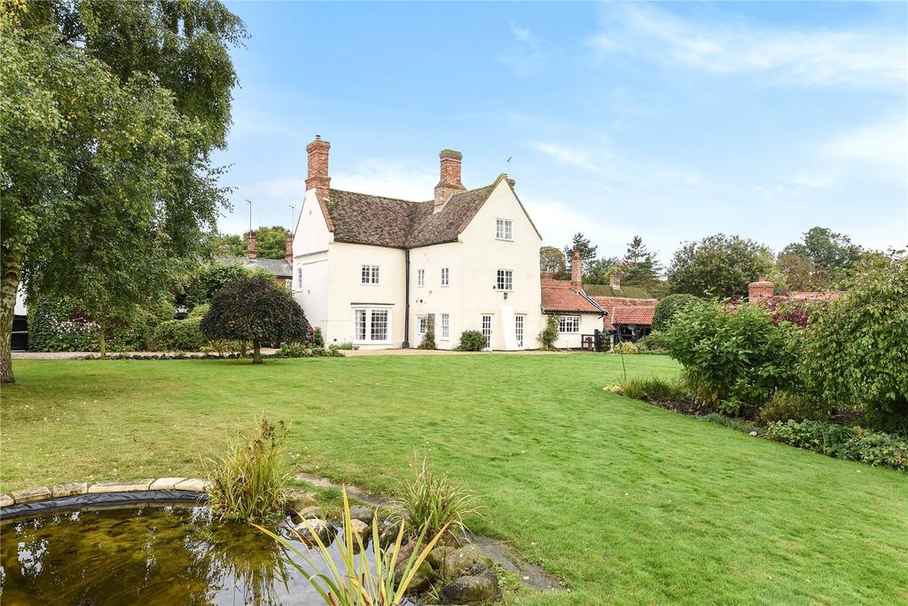 7 Bedrooms Detached House for sale in The Street, Little Thurlow, Suffolk, CB9
