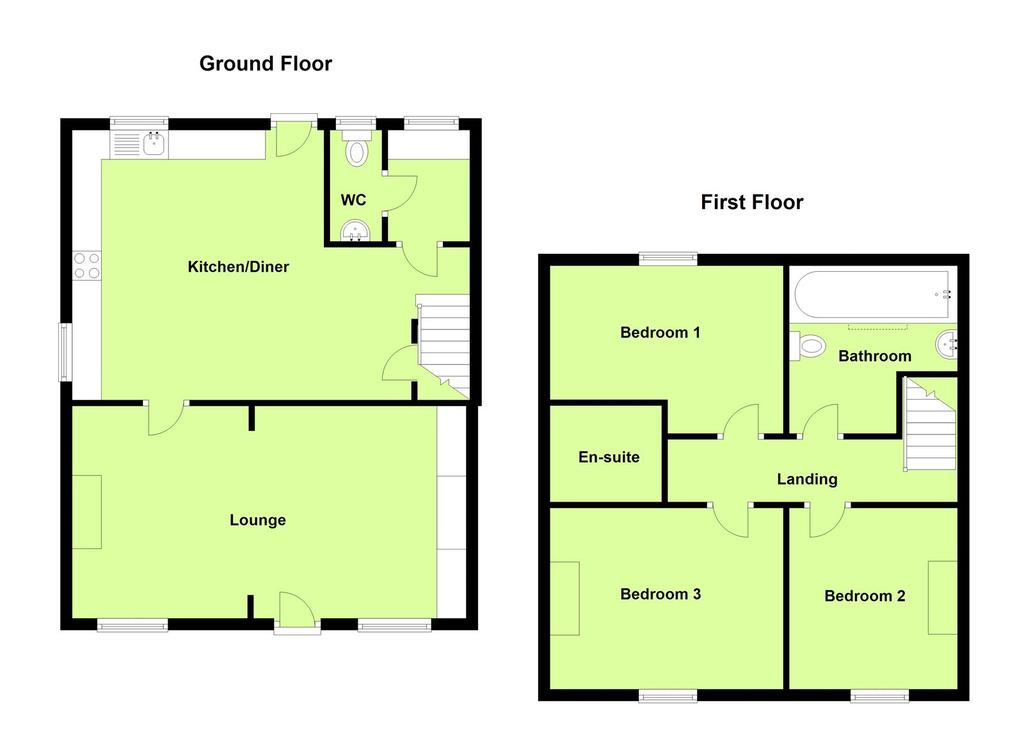 Main street frisby on the wreake melton mowbray 3 bed for Main street homes floor plans
