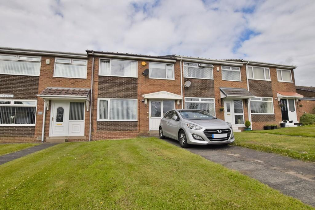 3 Bedrooms Terraced House for sale in Ruskin Close, East Stanley, Co. Durham