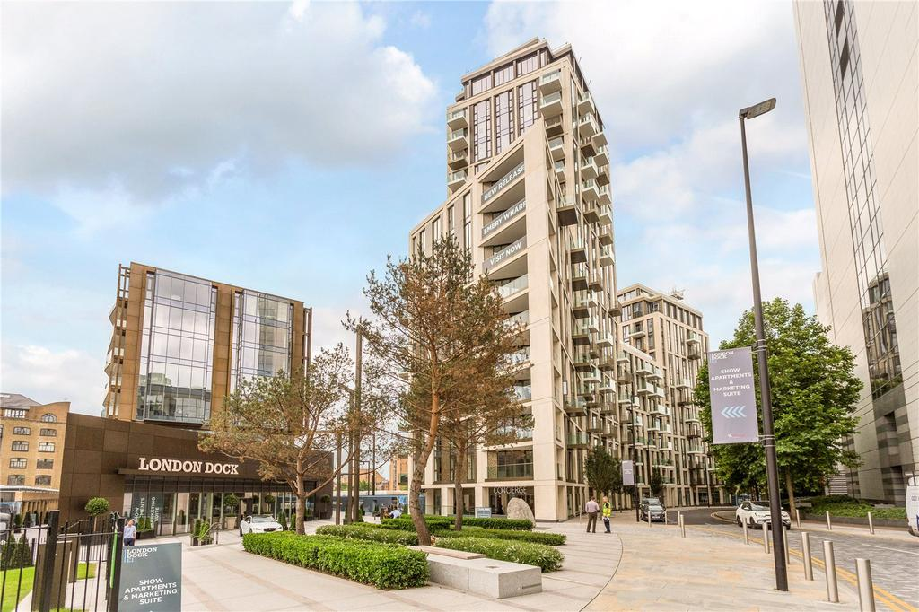 1 Bedroom Flat for sale in Admiral Wharf, 9 Virginia Street, London, E1W