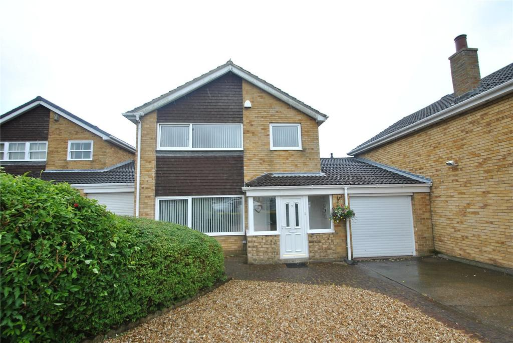 3 Bedrooms Link Detached House for sale in All Saints Drive, Hetton le Hole, Tyne and Wear, DH5