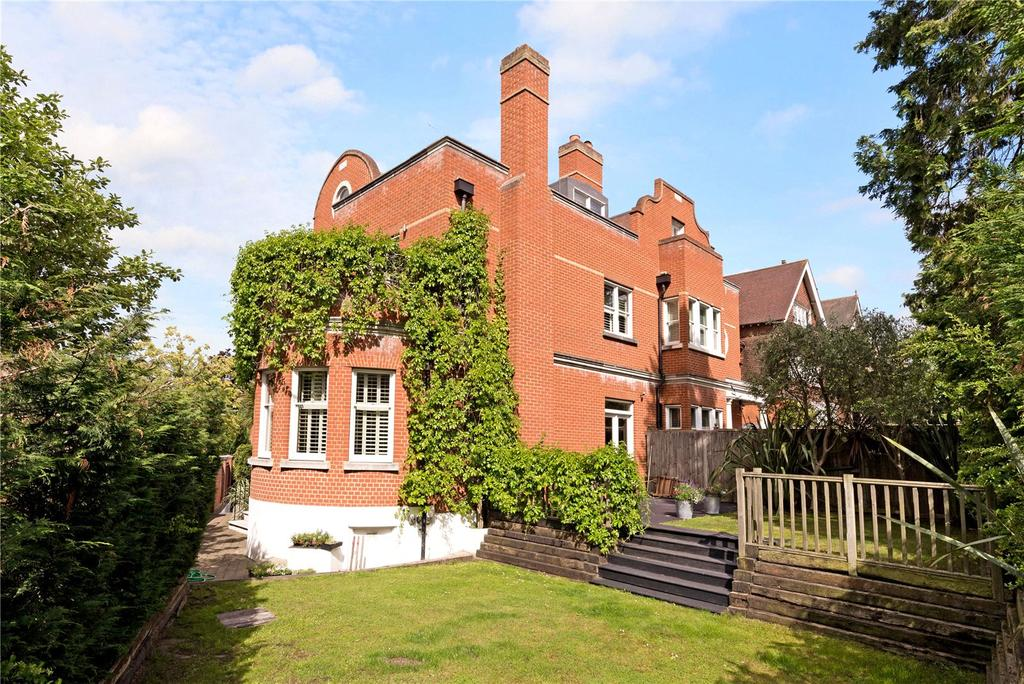 5 Bedrooms Semi Detached House for sale in Rusholme Road, Putney, London, SW15