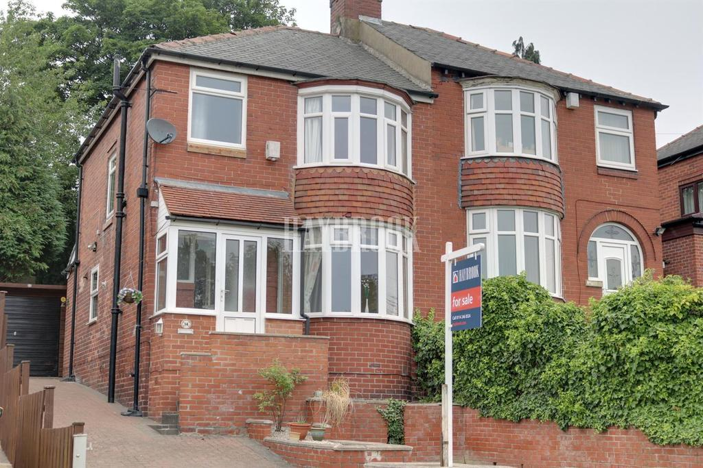 3 Bedrooms Semi Detached House for sale in Crowland Road, Sheffield Lane Top
