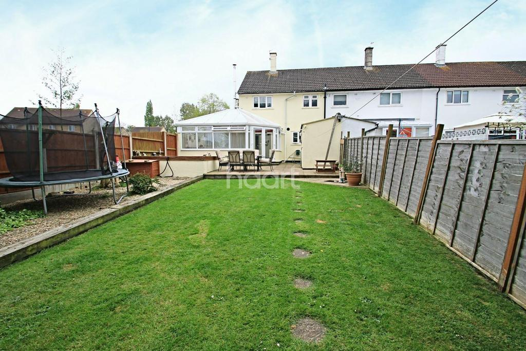 3 Bedrooms End Of Terrace House for sale in Heggard Close, BS13