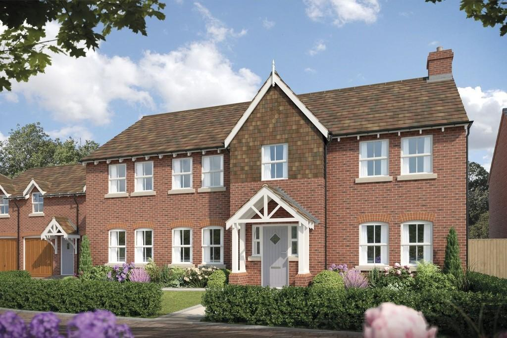 5 Bedrooms Detached House for sale in Fulford Hall Road, Tibury Green