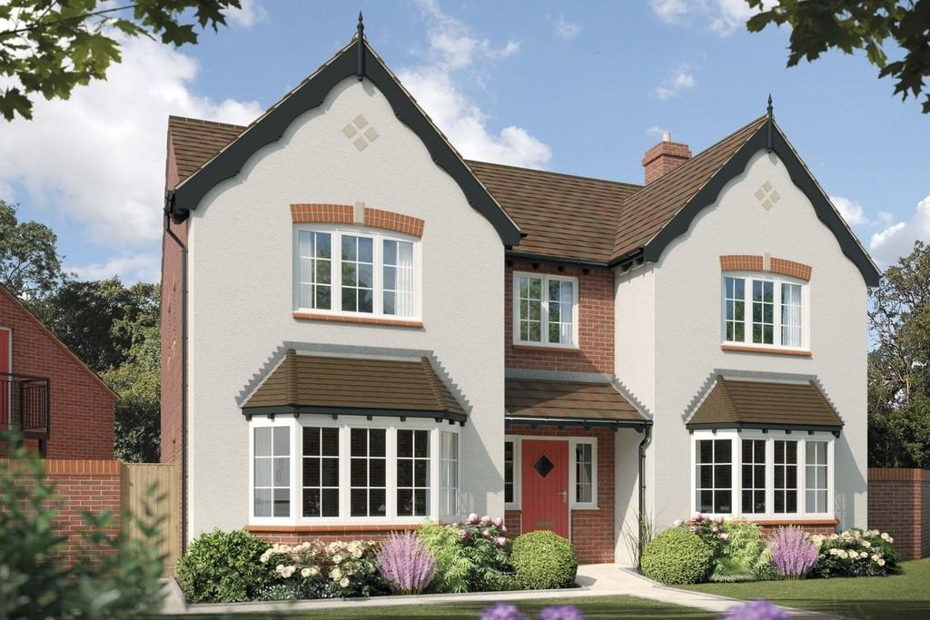 5 Bedrooms Detached House for sale in Fulford Hall Road, Tidbury Green