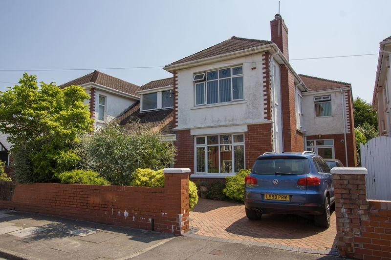 4 Bedrooms Semi Detached House for sale in Baron Road, Penarth
