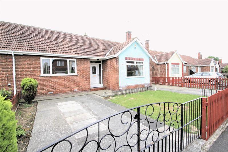 2 Bedrooms Semi Detached Bungalow for sale in Countisbury Road, Norton, TS20 1PY