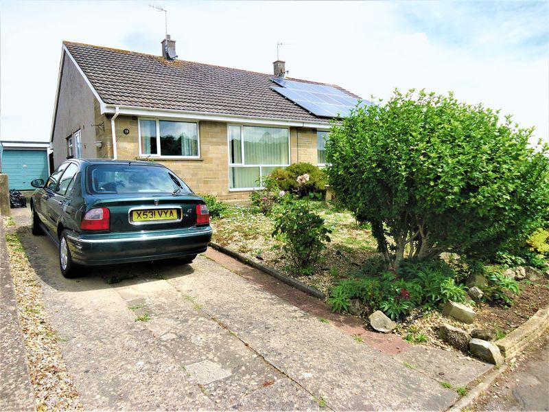 2 Bedrooms Semi Detached Bungalow for sale in Wolvershill Park, Banwell