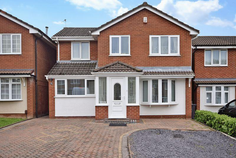 4 Bedrooms Detached House for sale in Rowthorn Close, Widnes
