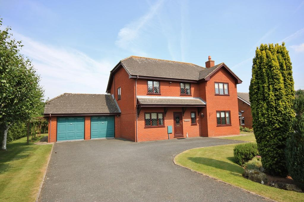 4 Bedrooms Detached House for sale in Chimneys Meadow, Allensmore, HEREFORDSHIRE, HR2