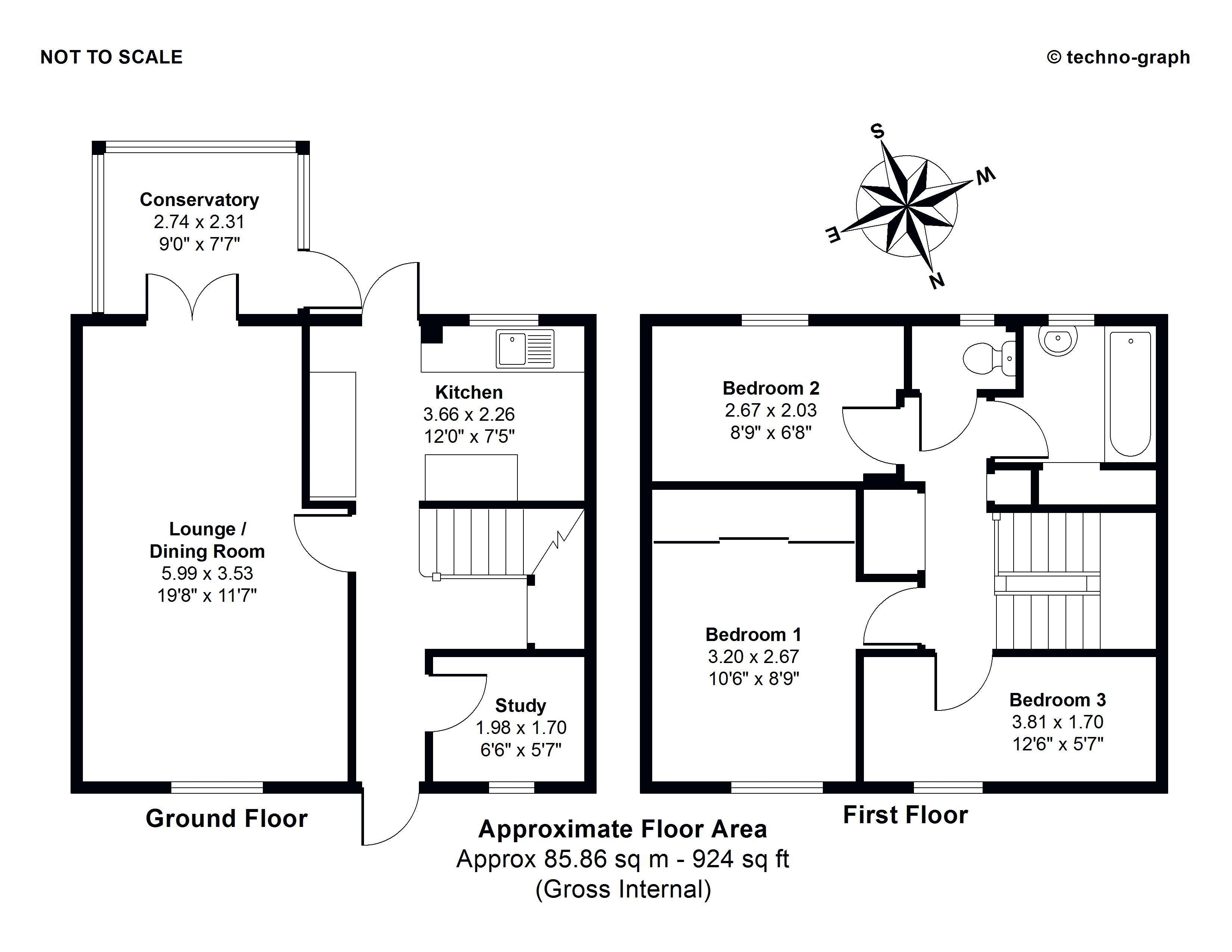 Floorplan: 1 Basset Road