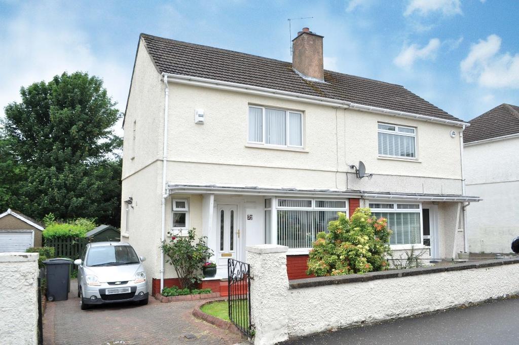 2 Bedrooms Semi Detached House for sale in Novar Gardens , Bishopbriggs , East Dunbartonshire , G64 2ER