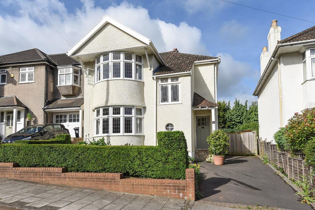 3 Bedrooms Detached House for sale in Cranleigh Gardens, Stoke Bishop, Bristol, BS9