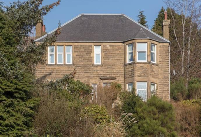 4 Bedrooms Detached House for sale in Ellwyn Mount, 19 Melrose Road, Galashiels, TD1 2AE
