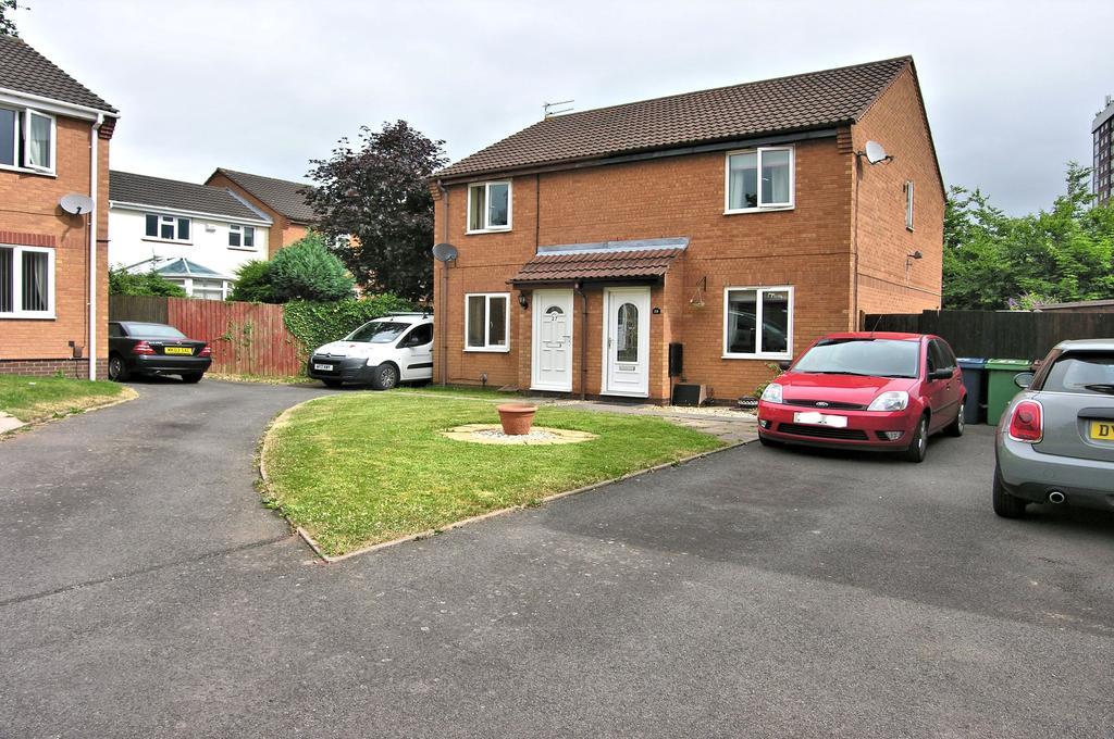 2 Bedrooms Semi Detached House for sale in KIRKSTALL AVENUE, WESTERN DOWNS, STAFFORD ST17
