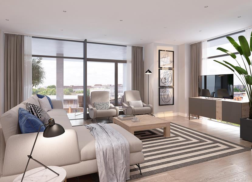 2 Bedrooms Apartment Flat for sale in 4 Waterside Apartments, E9