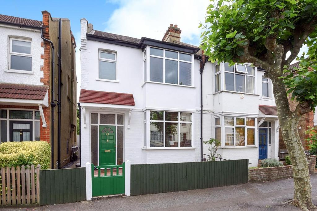 3 Bedrooms Semi Detached House for sale in Southdown Road, West Wimbledon, SW20