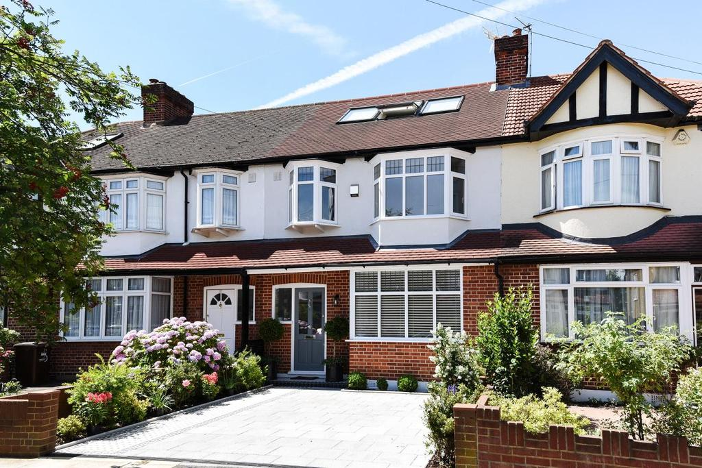 4 Bedrooms Terraced House for sale in Buckleigh Avenue, Wimbledon, SW20