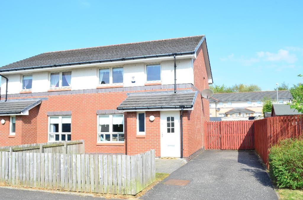 3 Bedrooms Semi Detached House for sale in Abbotsford Road, Hamilton, South Lanarkshire, ML3 0PN