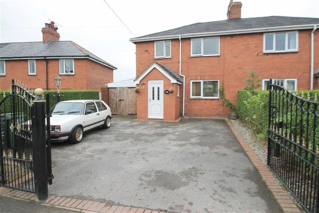 3 Bedrooms Semi Detached House for sale in Cae Coch, Cefn Mawr, Wrexham