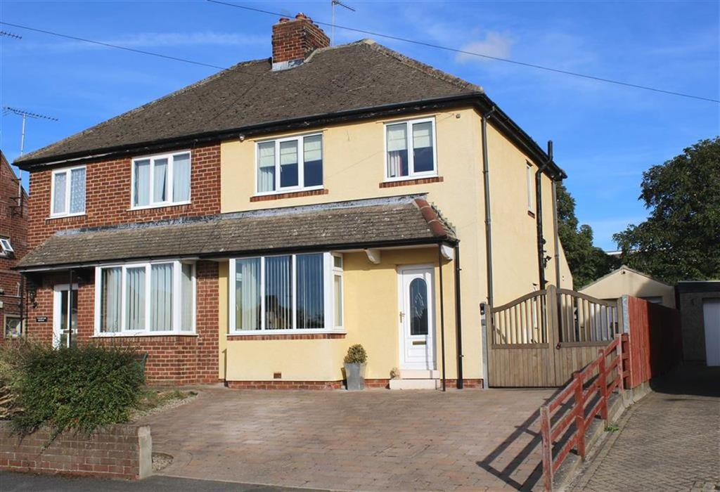 3 Bedrooms Semi Detached House for sale in Cleveland Road, Barnard Castle, County Durham