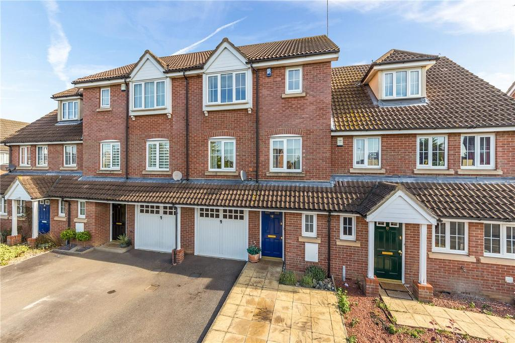 4 Bedrooms Terraced House for sale in Bluebell Way, Hatfield, Hertfordshire