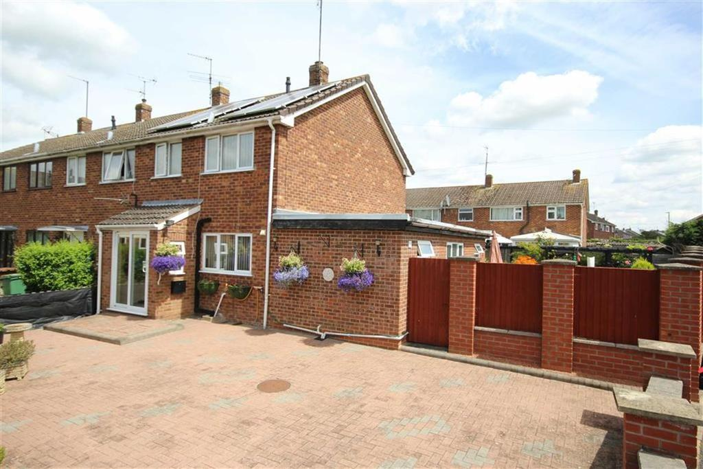 3 Bedrooms End Of Terrace House for sale in Oak Drive, Northway, Tewkesbury, Gloucestershire
