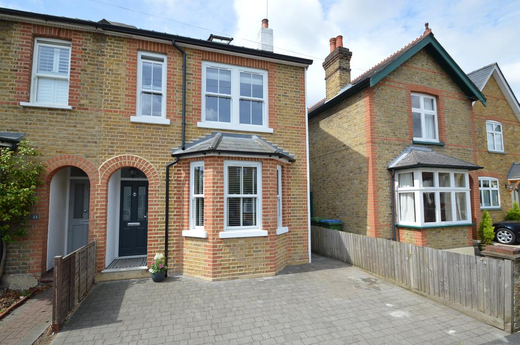 4 Bedrooms Semi Detached House for sale in Annett Road, WALTON ON THAMES KT12