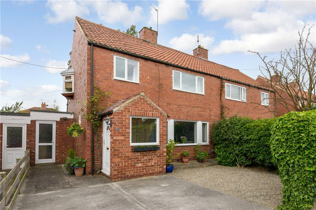 3 Bedrooms Semi Detached House for sale in Grove Crescent South, Boston Spa, Wetherby, West Yorkshire