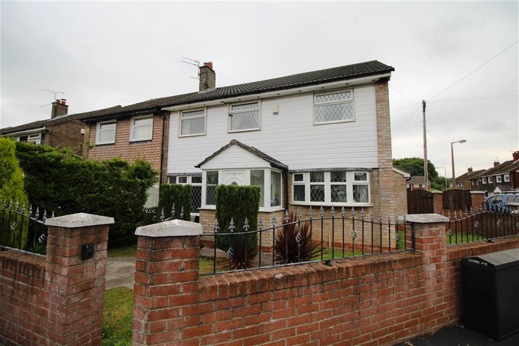 4 Bedrooms Semi Detached House for sale in Fairford Way, South Reddish, Stockport