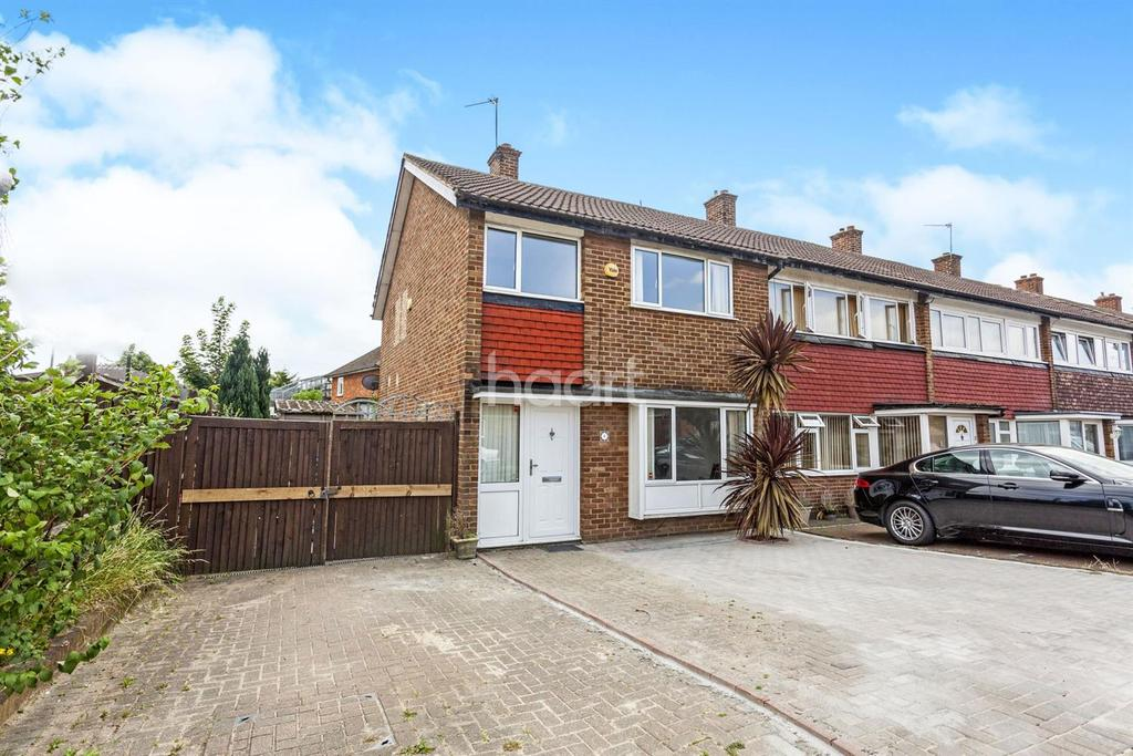 3 Bedrooms End Of Terrace House for sale in Priestly Road, Mitcham, CR4