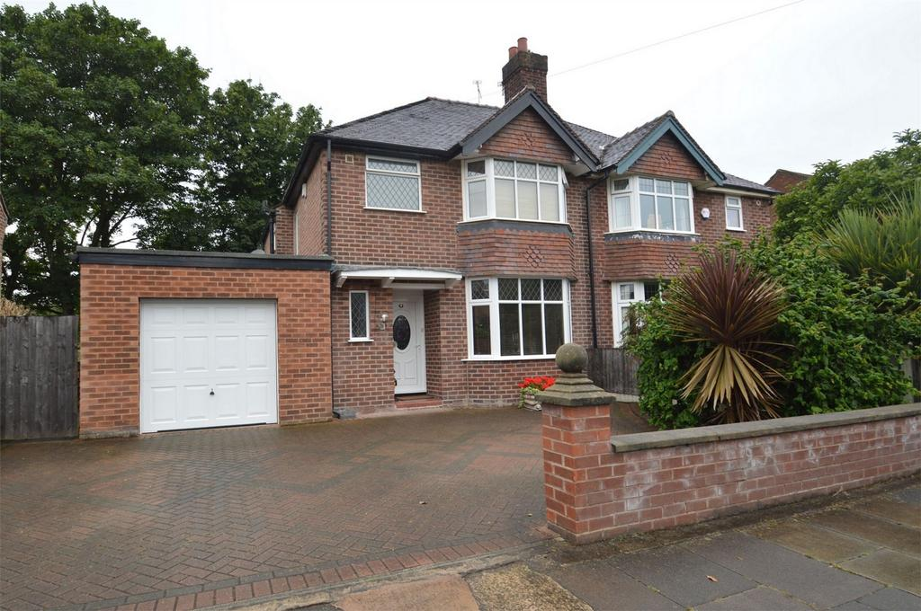 3 Bedrooms Semi Detached House for sale in Thorold Grove, SALE, Cheshire