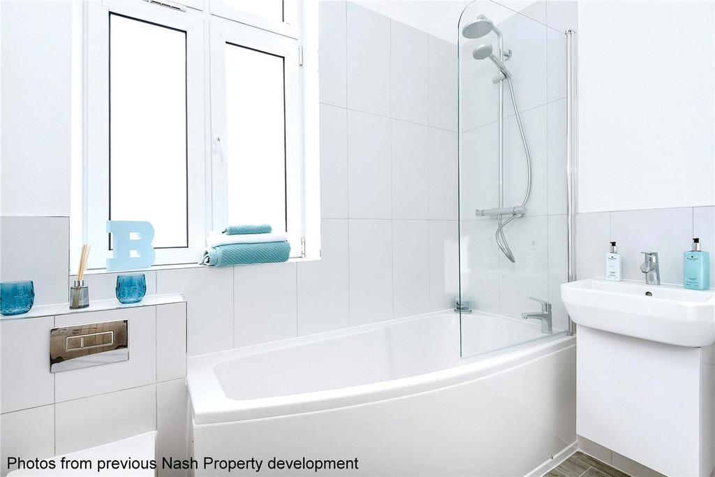 2 Bedrooms Apartment Flat for sale in Gladstone Road, Watford, Hertfordshire, WD17