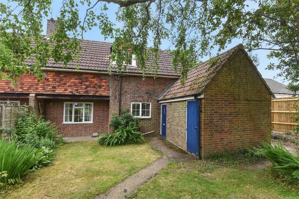 3 Bedrooms Semi Detached House for sale in Sparsholt, Winchester, Hampshire