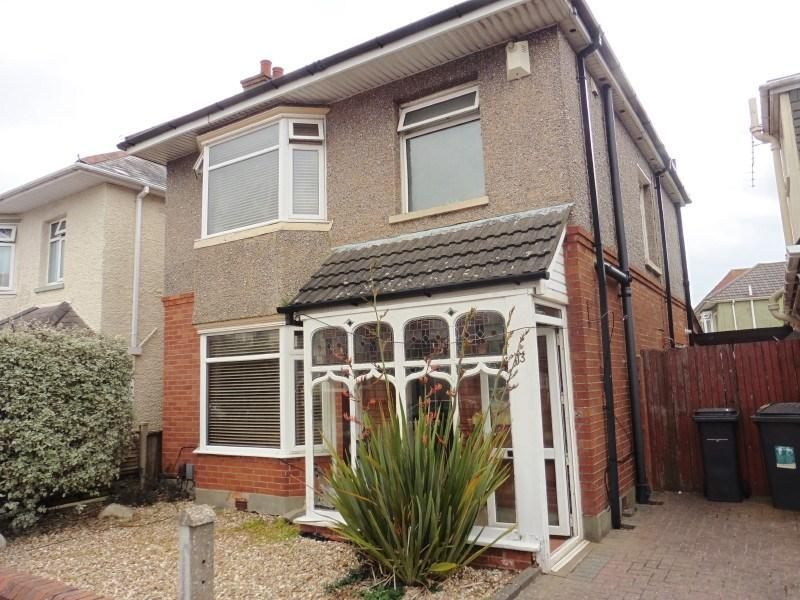 3 Bedrooms Detached House for sale in Comley Road, Moordown, Bournemouth