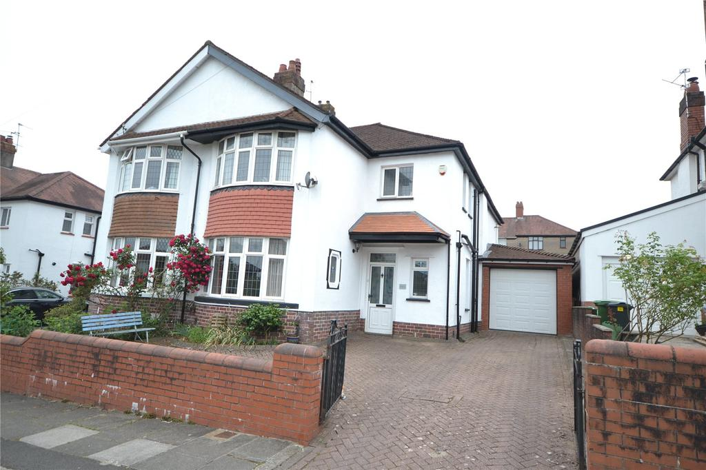 3 Bedrooms Semi Detached House for sale in Barons Court Road, Penylan, Cardiff, CF23