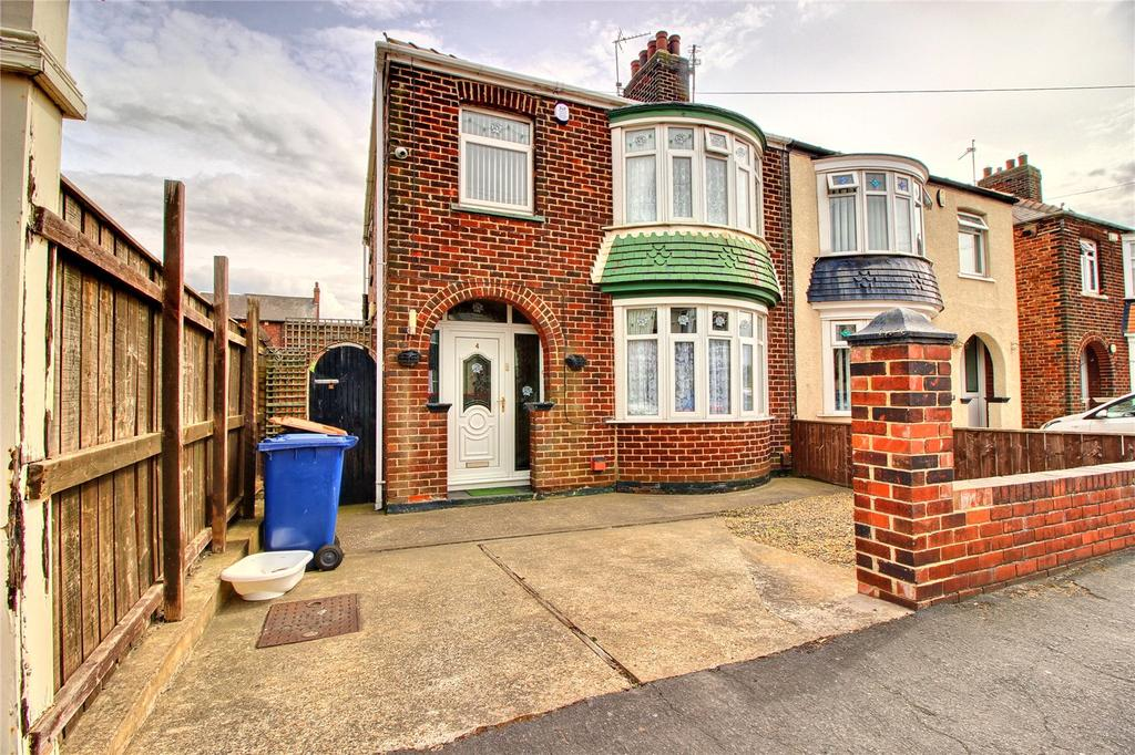 3 Bedrooms Semi Detached House for sale in Poplar Grove, South Bank