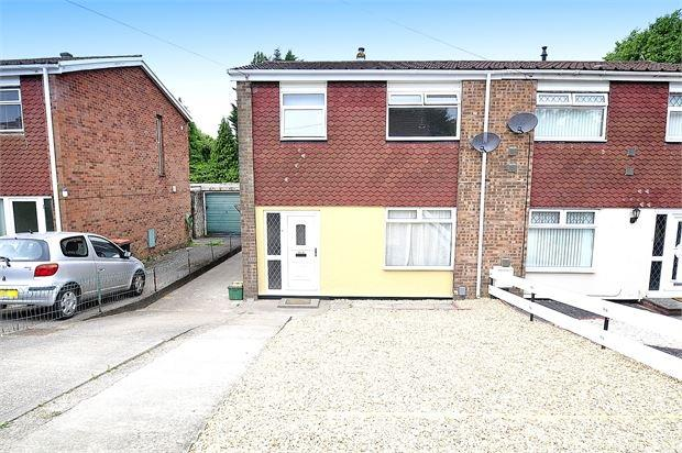 3 Bedrooms Semi Detached House for sale in Stockton Road, St Julians, Newport, Gwent. NP19 7HG