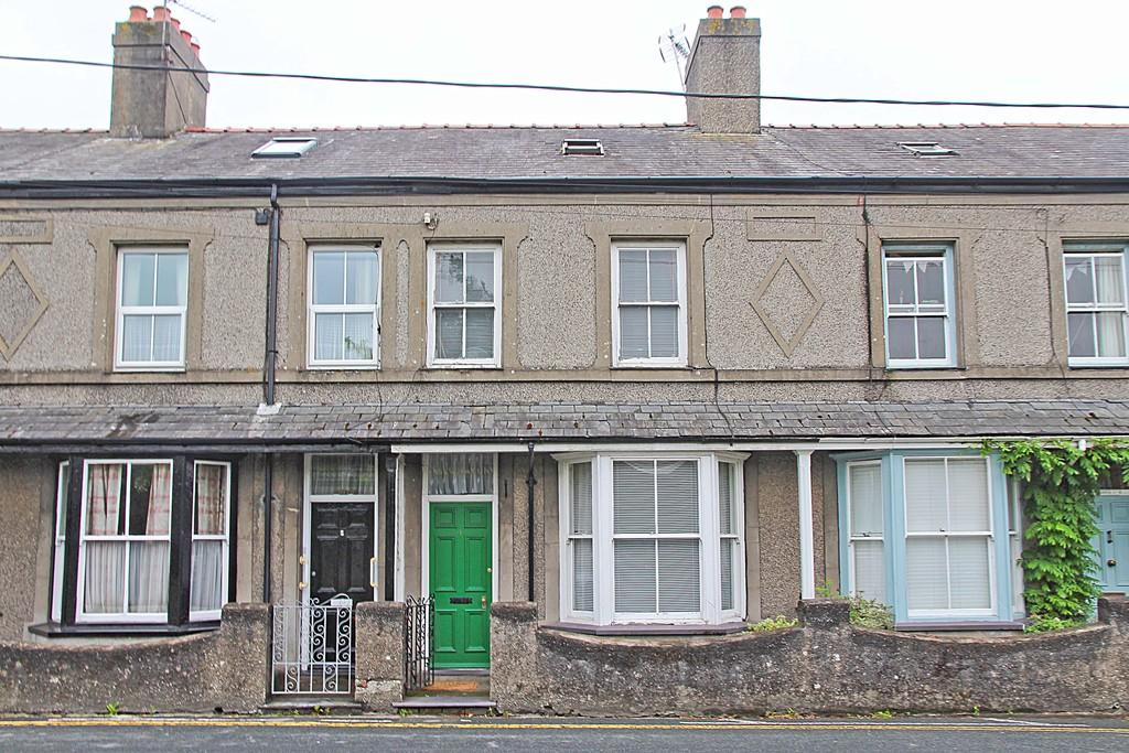 3 Bedrooms Terraced House for sale in Brookfield Terrace, Pwllheli, North Wales