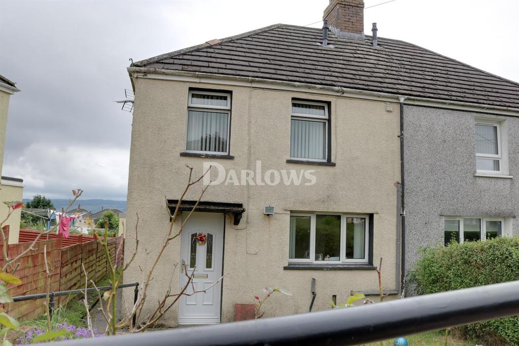 2 Bedrooms Semi Detached House for sale in Eleventh Avenue Merthyr Tydfil