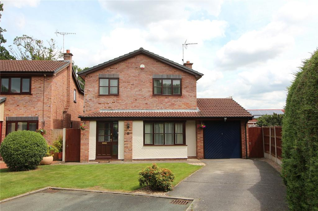 3 Bedrooms Detached House for sale in Fairview, Rhostyllen, Wrexham, LL14