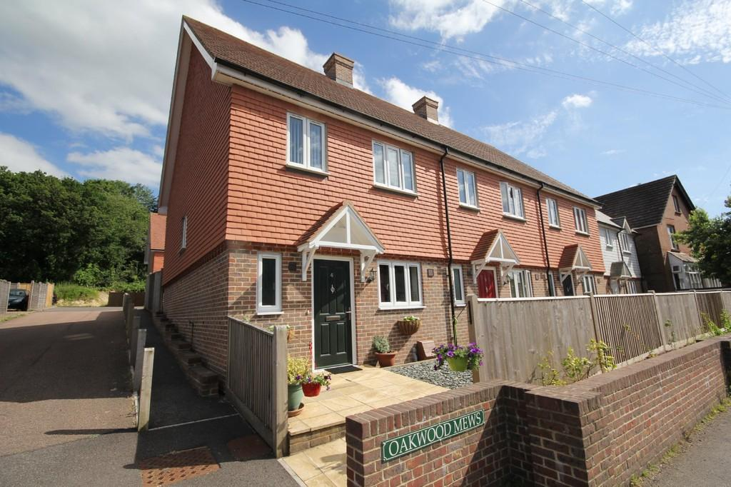4 Bedrooms End Of Terrace House for sale in Oakwood Mews, Western Road, Crowborough