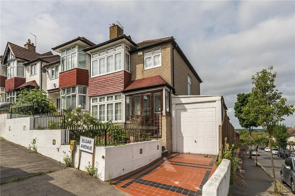 3 Bedrooms Semi Detached House for sale in Elgar Avenue, London, SW16